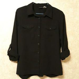 Laura Scott button up women's blouse.